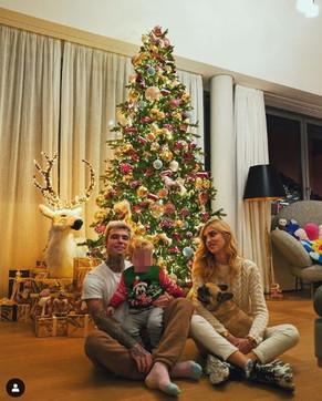 Ferragnez natalizi, ecco tutti gli addobbi in casa