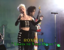 Quando i Roxette si sono esibiti in Italia nel 1989