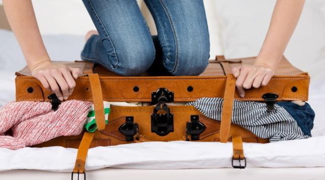 Guida antistress per preparare il bagaglio a mano