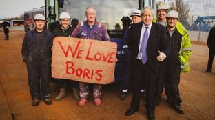 Boris Jonhson, il primo tweet dopo gli exit poll: