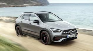Mercedes GLA, l'hi-tech domina sul nuovo modello