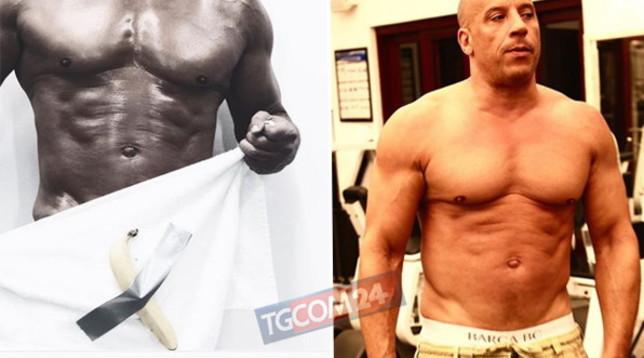 Vin Diesel, un macho con... la banana