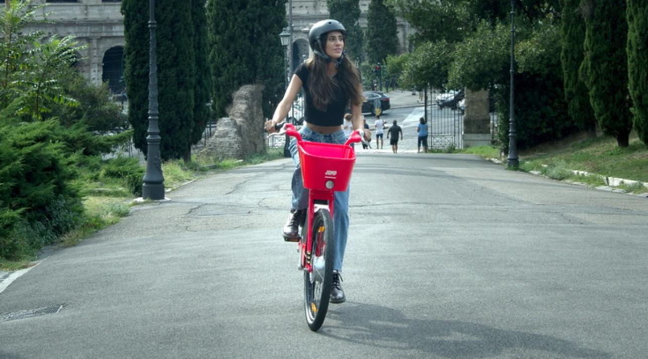 Il balzo romano di Jump by Uber