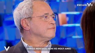 """Enrico Mentana a """"Verissimo"""": """"Conosco tante persone ma non ho molti amici"""""""
