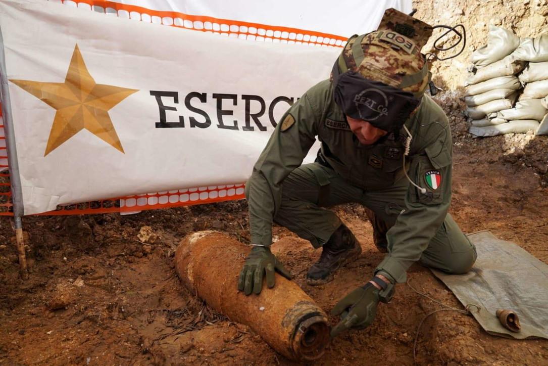 Ordigno Brindisi, mille uominidelle forze dell'ordine impegnati nelle operazioni