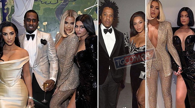 Puff Daddy compie 50 anni e al suo party c'è una reunion di superstar, da Beyoncé alle Kardashian...: guarda le più sexy