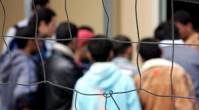 migranti generica profughi centro accoglienza