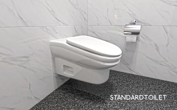 Gb, arriva il wc inclinato per stare in bagno meno tempo