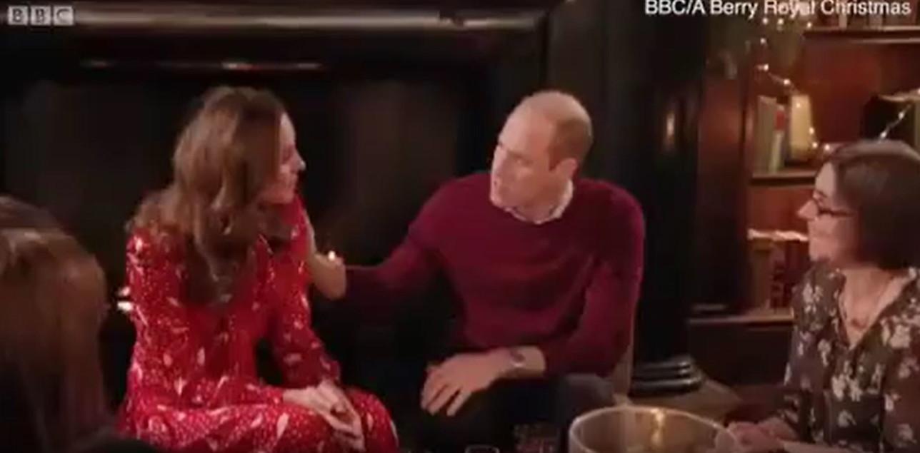 Kate Middleton e il gesto di stizza contro William, c'è crisi?