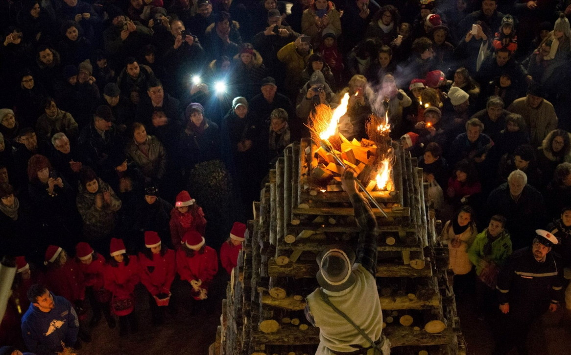 Toscana: ad Abbadia San Salvatore il Natale è fatto di fuoco
