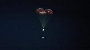 Spazio, rientrata la capsula Starliner: è atterrata nel deserto del Nuovo Messico