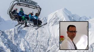 Bolzano, bimbo scivola da seggiovia: medico-eroe lo prende al volo e lo trattiene fino ai soccorsi