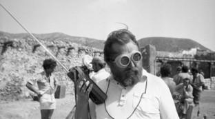 Sergio Leone: scatti, immagini e ricordi di una vita da regista