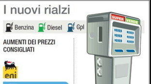 Carburanti, nuovi rialzi in vista