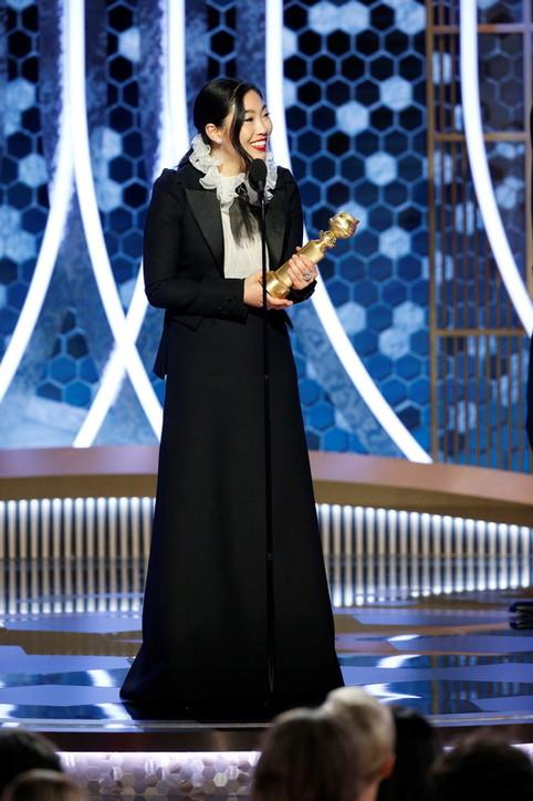 Golden Globe, Awkwafinanella storia: prima asiatica premiata come migliore attrice