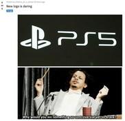 PlayStation 5: ecco le migliori reazioni dal web alla presentazione del logo