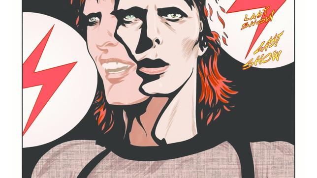 Arriva la biografia a fumetti di David Bowie: guarda alcune tavole