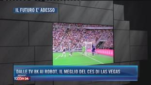 Dalle tv 8k ai robot, il meglio del Ces di Las Vegas