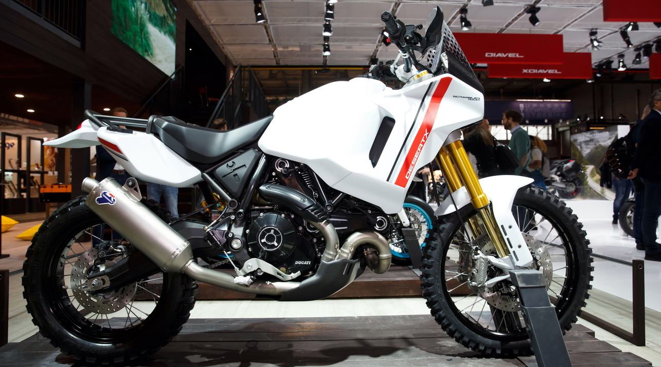 Motard, DesertX e Icon Dark