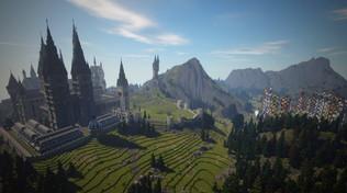 Il mondo di Harry Potter ricreato all'interno di Minecraft