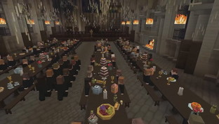 Il mondo di Harry Potter rivive in Minecraft