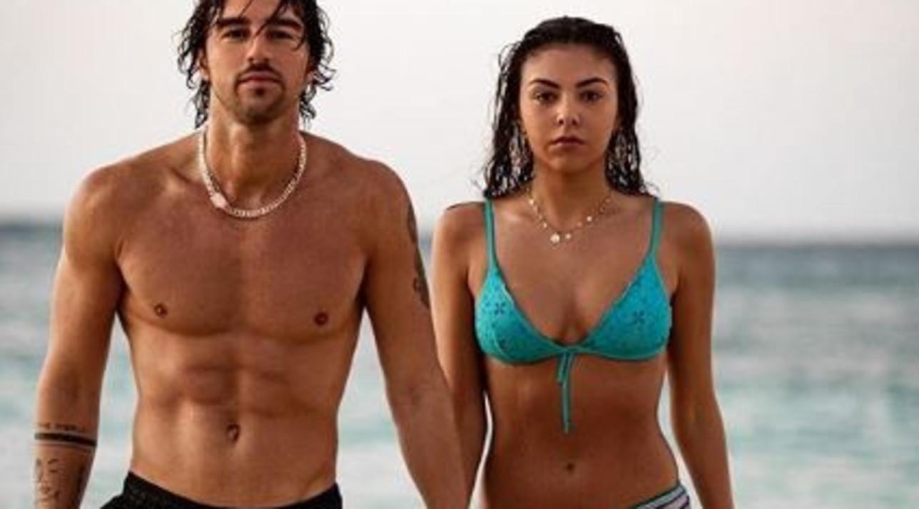 Andrea Damante alle Bahamas, prime foto social con Claudia