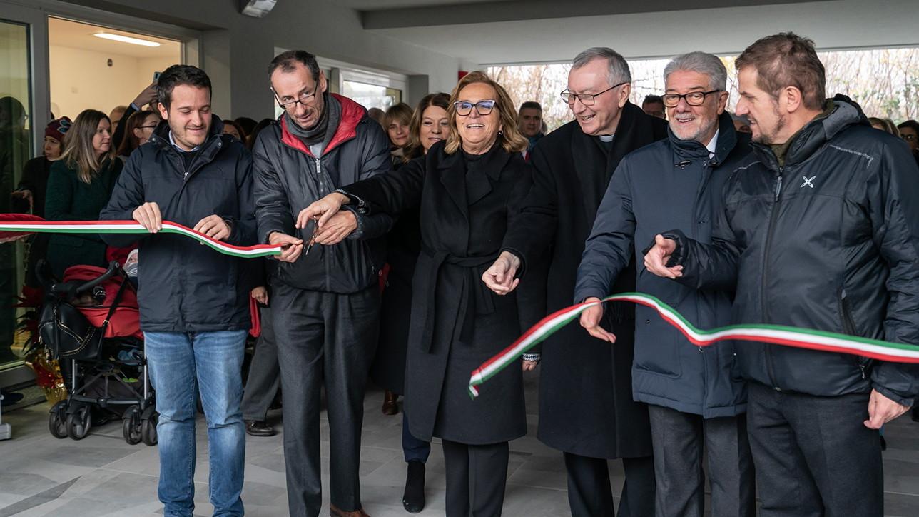 Inaugurazione Corte di Quarto, a Milano il nuovo borgo solidale di Arché