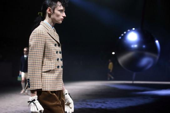 MFW, Gucci: un uomo 'bambino', libero da ogni stereotipo