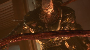 Resident Evil 3: foto e video per scoprire il tenebroso Nemesis