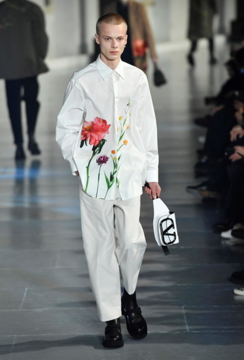 Paris Fashion week 2020, l'uomo di Valentino è timido e romantico