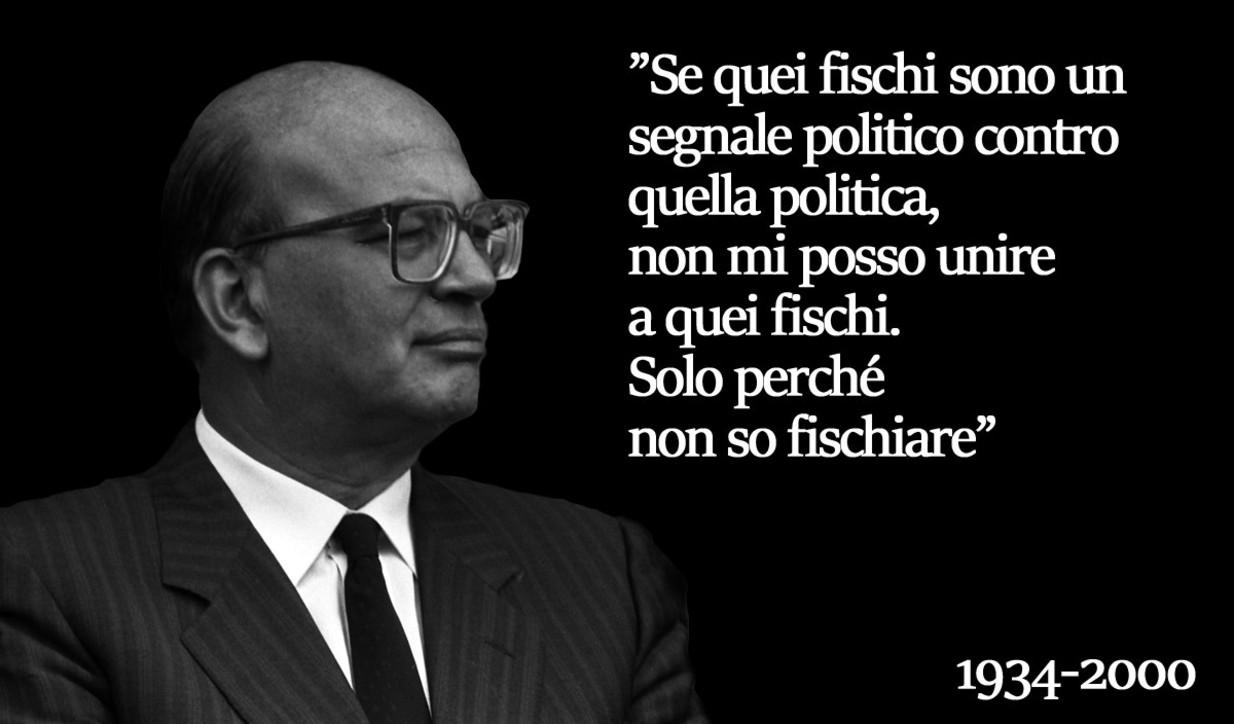 Le frasi celebri di Bettino Craxi