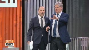 """""""Dritto e Rovescio"""", Paolo Del Debbio lascia la trasmissione per un malore: """"Non riesco a stare in piedi"""""""