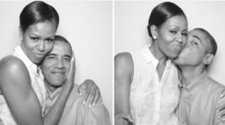 Barack Obama fa gli auguri a Michelle: