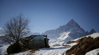 Clima, l'allarme dell'Arpa: Monviso a rischio frane importanti
