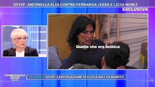 """""""Grande Fratello Vip"""", polemiche su Fernanda Lessa: """"Mi ha nominato quella lesbica"""""""