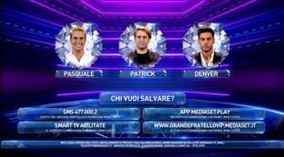 """""""Grande Fratello Vip"""", Pasquale Laricchia, Patrick Pugliese e Andrea Denver sono in nomination"""