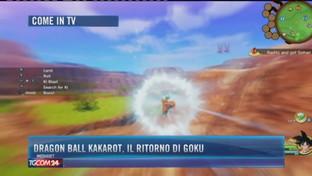 Dragon Ball Kakarot, il ritorno di Goku