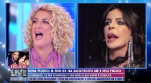 """Caso Favoloso, duro scontro tra la madre e Nina Moric: """"Luigi è stato violento"""""""