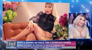 """Rodrigo Alves, da Ken umano a Barbie: """"Mi sono sempre sentito donna"""""""