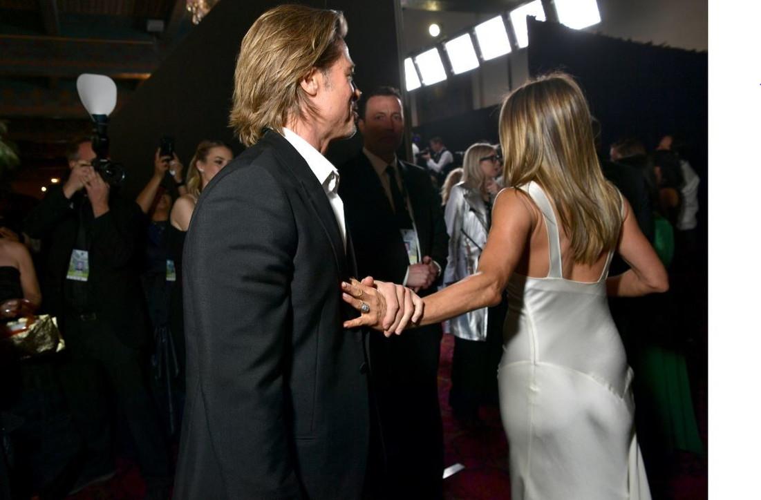 "JenniferAniston e Brad Pitt di nuovo ""insieme"""