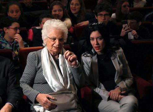 Liliana Segre: i nazisti ad Auschwitz erano i bulli di allora