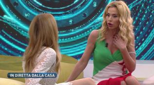 GF Vip, Valeria Marini a Rita Rusic: