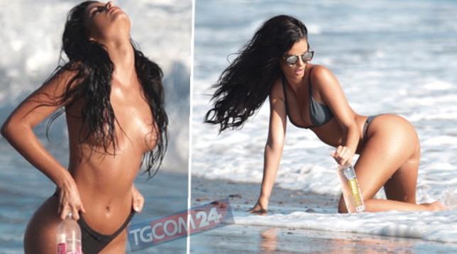 La modella Jaylene Cook è una sirena sexy a Malibu