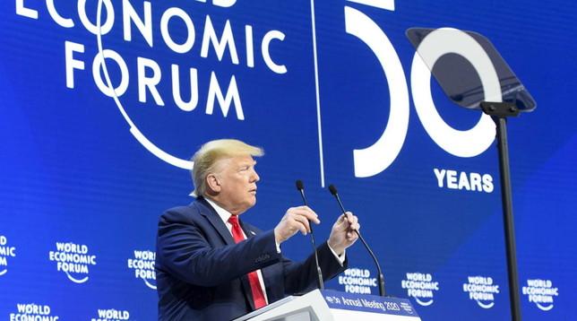 Davos, Trump: