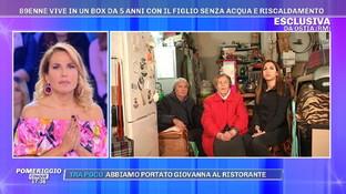 """Ostia, 89enne vive in un garage insieme al figlio: """"Abbiamo perso tutto"""""""