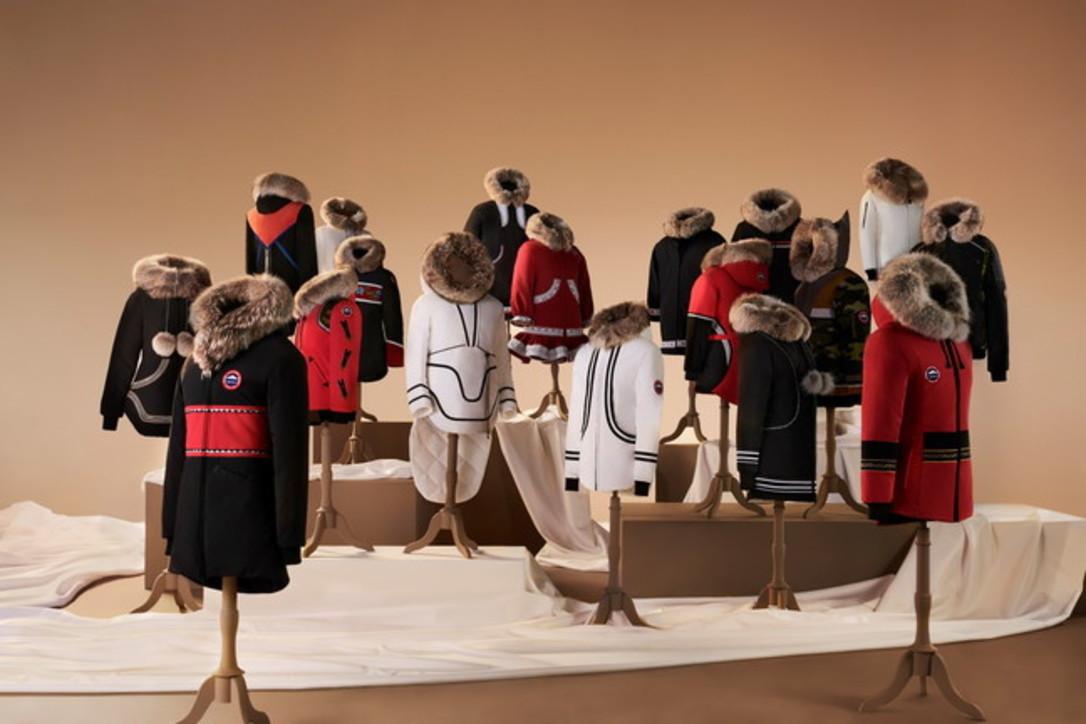 Project Atigi 2020, una collezione di parka creata da stilisti Inuit
