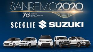 L'ibrido Suzuki canta a Sanremo