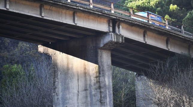 Autostrade, ispezione del ministerosul viadotto della A7: