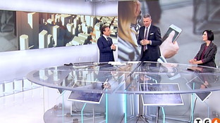 """Piero Chiambretti, incursione show al """"Tg4"""""""