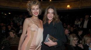 Eva Herzigova e Carla Bruni, reunion tra ex modelle